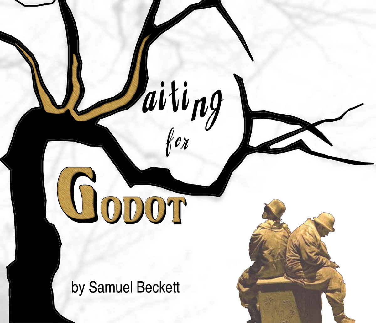how do samuel beckett waiting for Samuel beckett's waiting for godot january 31 - february 18, 2018 two road-weary men arrive at a tree in the middle of nowhere to await the arrival of godot.